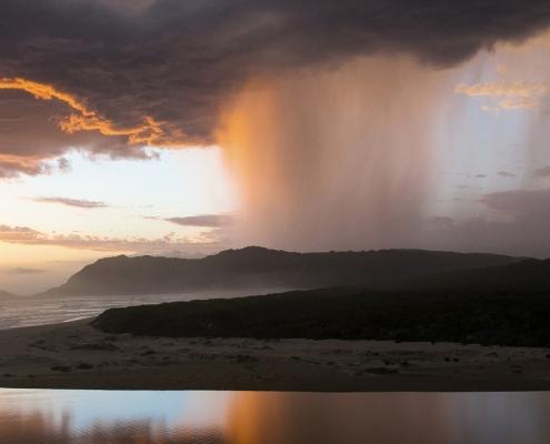 Cloudburst over Sedgefield